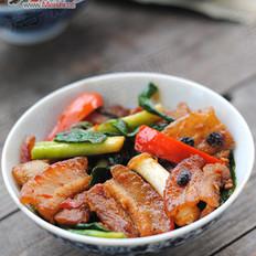 豉香回锅肉的做法