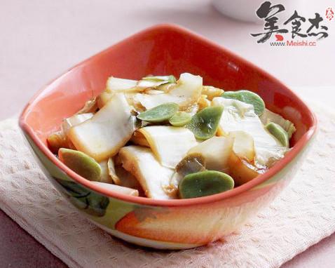 腊八蒜炒白菜的做法