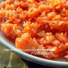 番茄蛋炒饭的做法