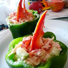 龙虾沙拉杯的做法