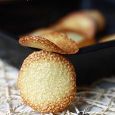 蛋白芝麻脆饼