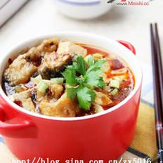 麻辣豆腐鱼的做法