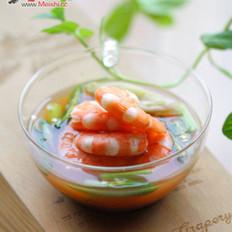 泡菜大虾的做法