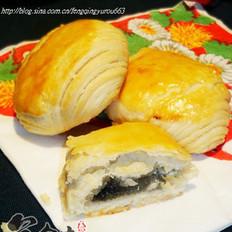 黑芝麻酥饼