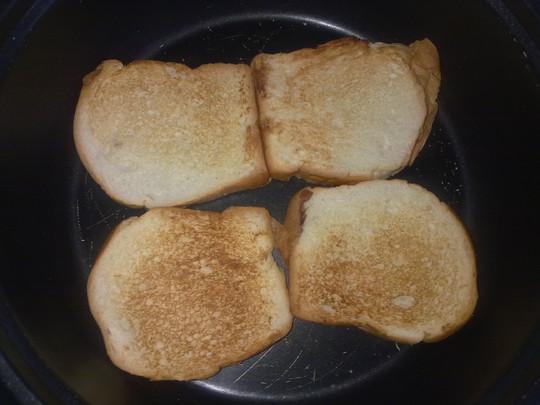 完美西式早餐烤面包片+水果沙拉+牛奶