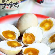 腌制咸鸭蛋的做法