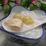 白果腐竹粥的做法