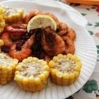 玉米咖喱虾