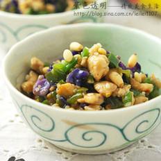 蚝油青椒炒鸡米