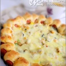 什锦海鲜披萨