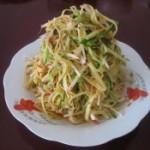 黄瓜丝拌干豆腐丝的做法