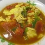 青椒西红柿炒蛋