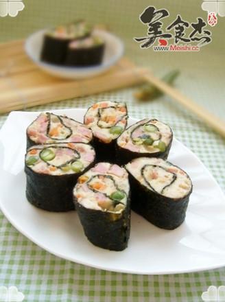 什锦豆腐海苔卷的做法