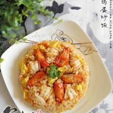 鲜虾鸡蛋炒饭的做法