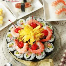 寿司生日蛋糕的做法