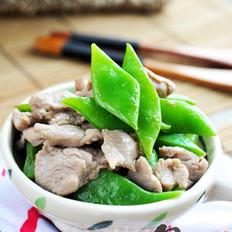 肉片炒扁豆的做法