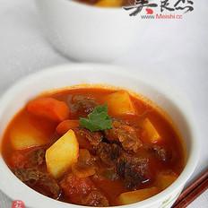 番茄焖牛肉的做法