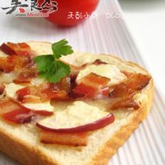 香烤培根苹果三明治