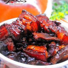 黑人参红烧肉的做法