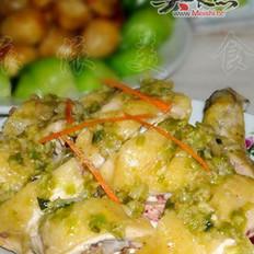 姜葱鸡的做法