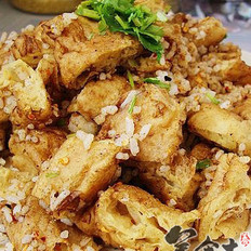 孜然米饭炒油饼