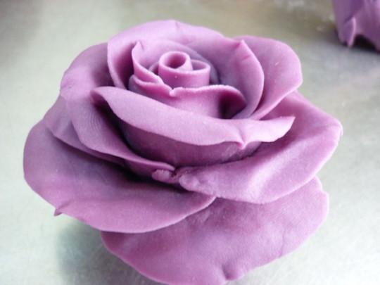 紫玫瑰的做法