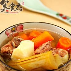 竹蔗红萝卜马蹄汤