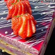 桑葚芝士蛋糕的做法