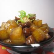 麻油香蒜萝卜头