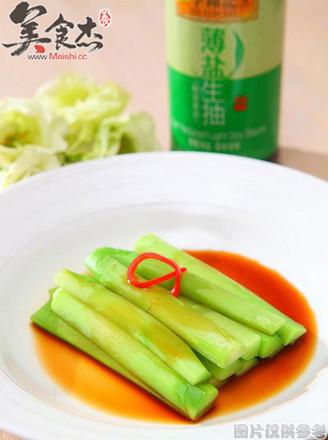 京酱芥兰菜的做法