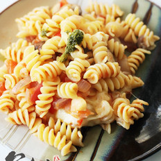 奶酪焗意大利面的做法