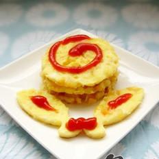 木瓜蛋饼的做法