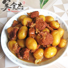 红烧肉炖小土豆