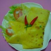 柠檬薄菏蛋饼