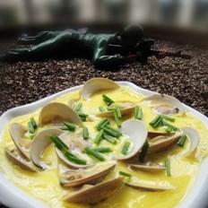 文蛤蒸蛋的做法