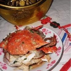 葱爆大海蟹