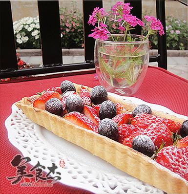 草莓 黑加仑/草莓黑加仑塔