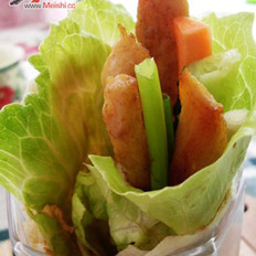 老北京雞肉卷的做法