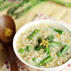 桂花芦笋糙米粥