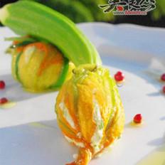 酿南瓜花的做法