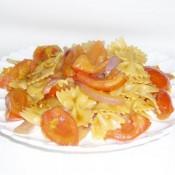 番茄洋葱炒意粉