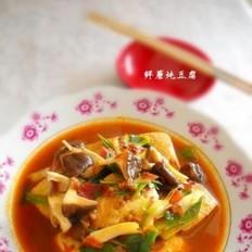 鲜蘑炖豆腐