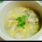 白果洋参炖鸡汤的做法