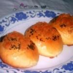 肉松花生面包