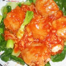 鲜虾酿鸡翅的做法