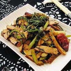 豆干水芹菜