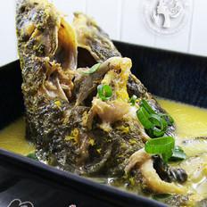 昂刺鱼浓汤的做法