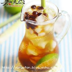 香茅青柠茶的做法