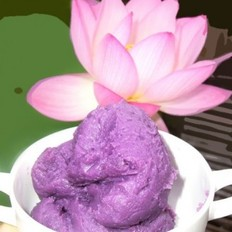 奶香紫薯小饼