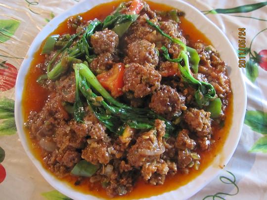 【图】红烧丸子干妈--diy_红烧猪肉丸子--diy的老品种有几个猪肉图片